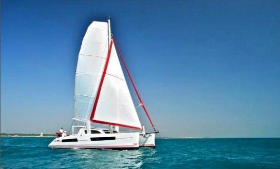 Charter The Catana 47 Ci Cruising Catamaran With Watermaker & Aircon in Noumea, New Caledonia