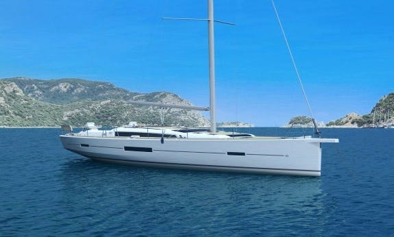 Dufour 520 Grand Large with 5 Cabins / 3 Head and A/C in Antigua and Barbuda