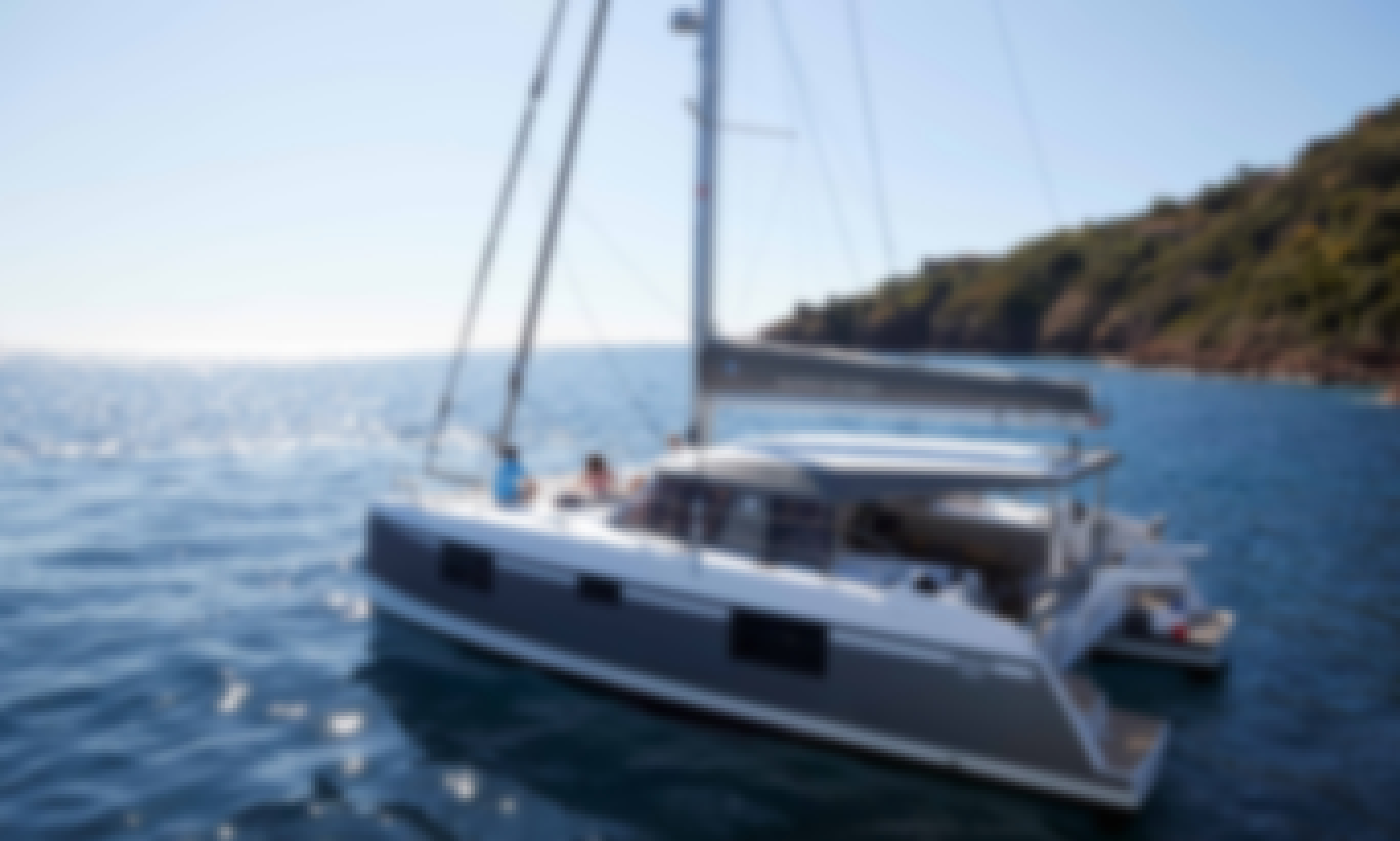 "Brand New Catamaran NAUTITECH 40 Open with crew for Rent in Mauritius ""SEA SPIRIT"""