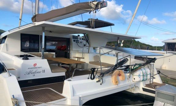 2017 Lucia 40 O.v. with Watermaker in Antigua and Barbuda