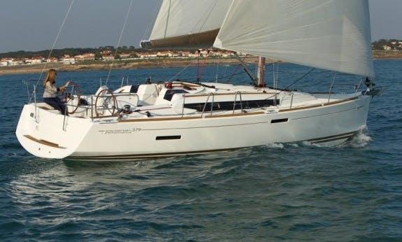 Sun Odyssey 379 Cruising Monohull  with 3 Cabins in Antigua and Barbuda