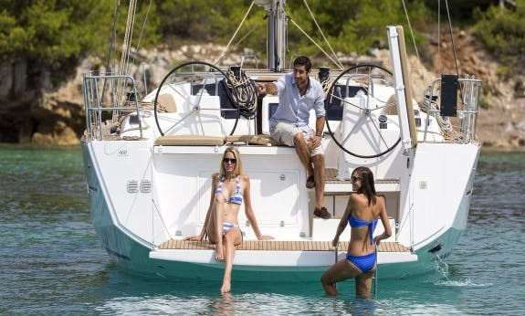 Enjoy The Portorosa, Sicily Yacht Vacation On Dufour 460 Gl Cruising Monohull