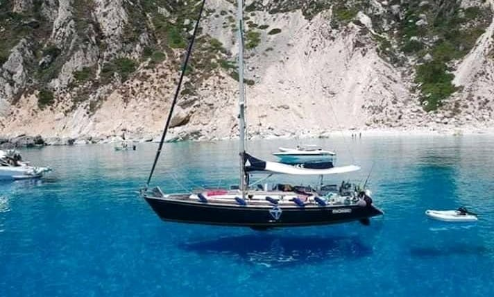Crewed sailing boat rental from Salento or Corfù