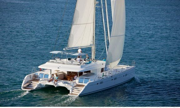 Crewed Charter on Lagoon 620 Catamaran in Pointe-à-Pitre, Guadeloupe
