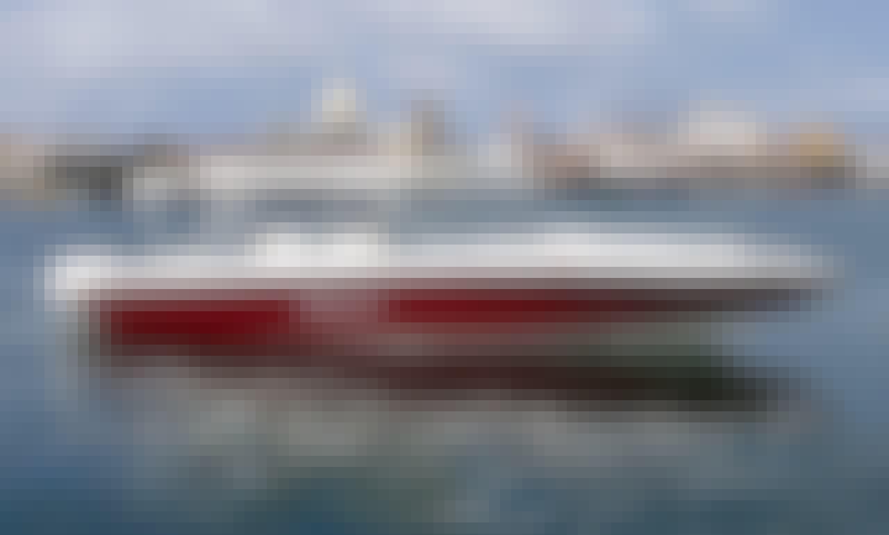 Luxury 39 feet Boat Rosario Island Private Tour