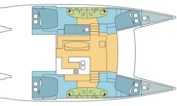 Book The Salina 48 Evolution Cruising Catamaran In Phuket, Thailand