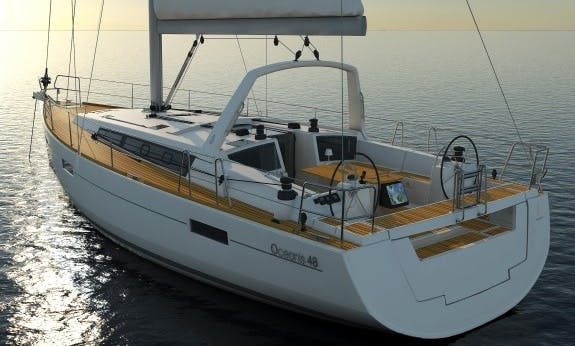 Sailing Oceanis 485 with Watermaker and A/C - Plus in Pointe-à-Pitre, Guadeloupe