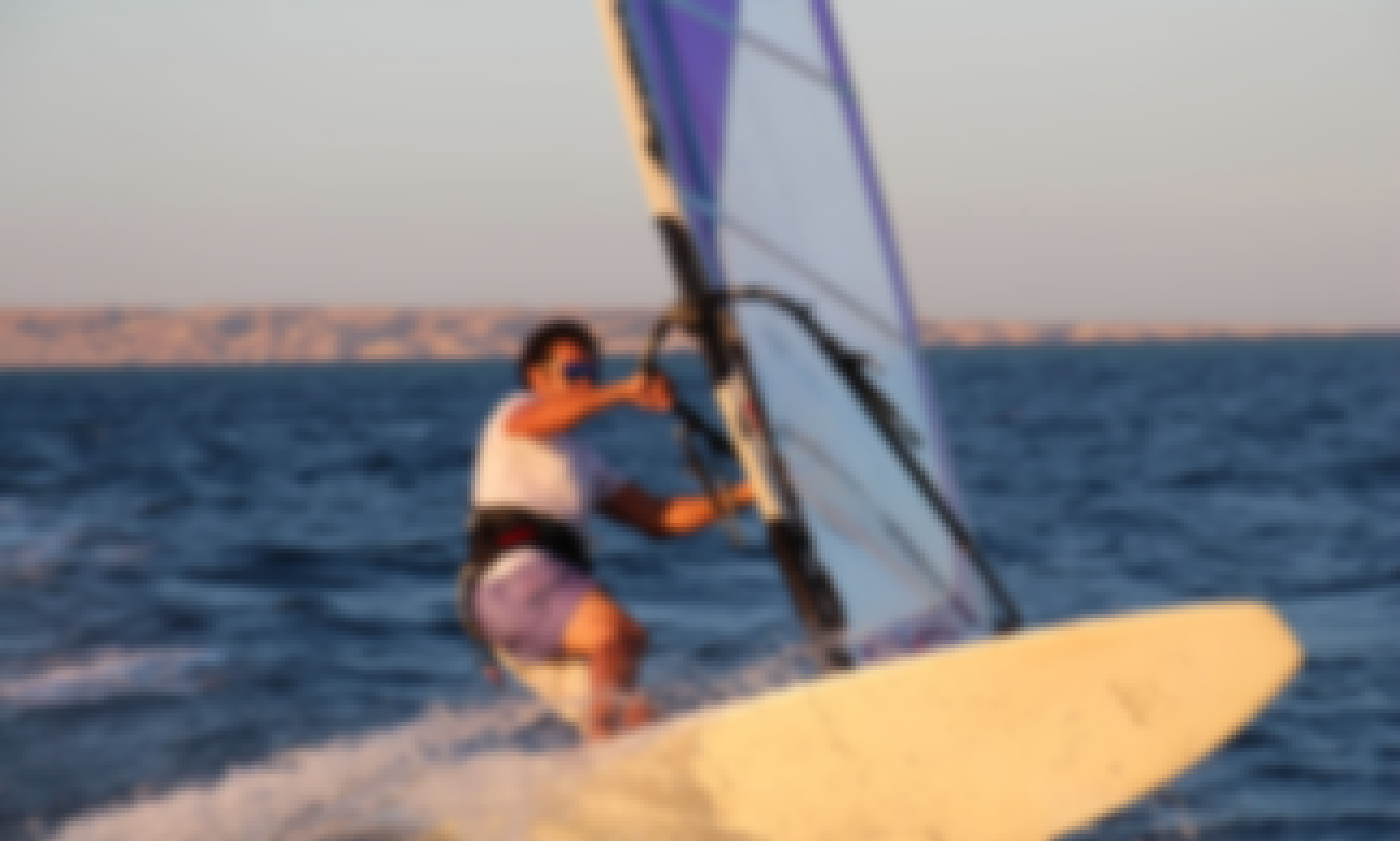 Windsurfing courses with WWS-instructors of Kite-Active in Red Sea Governorate
