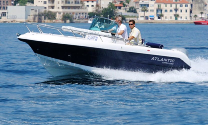 Atlantic Open 550 Powerboat Ready to Rent in Mali Lošinj, Croatia