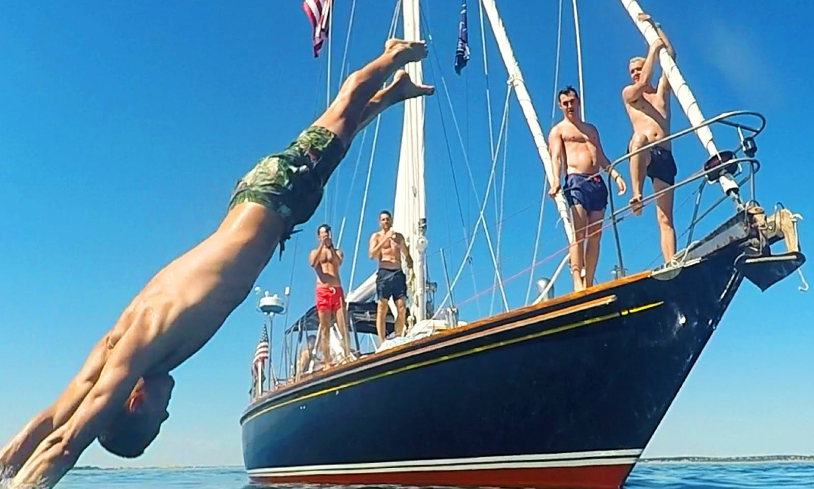 """Captained Charter on 47ft """"Moment"""" Sailing Yacht in Provincetown,Massachusetts"""