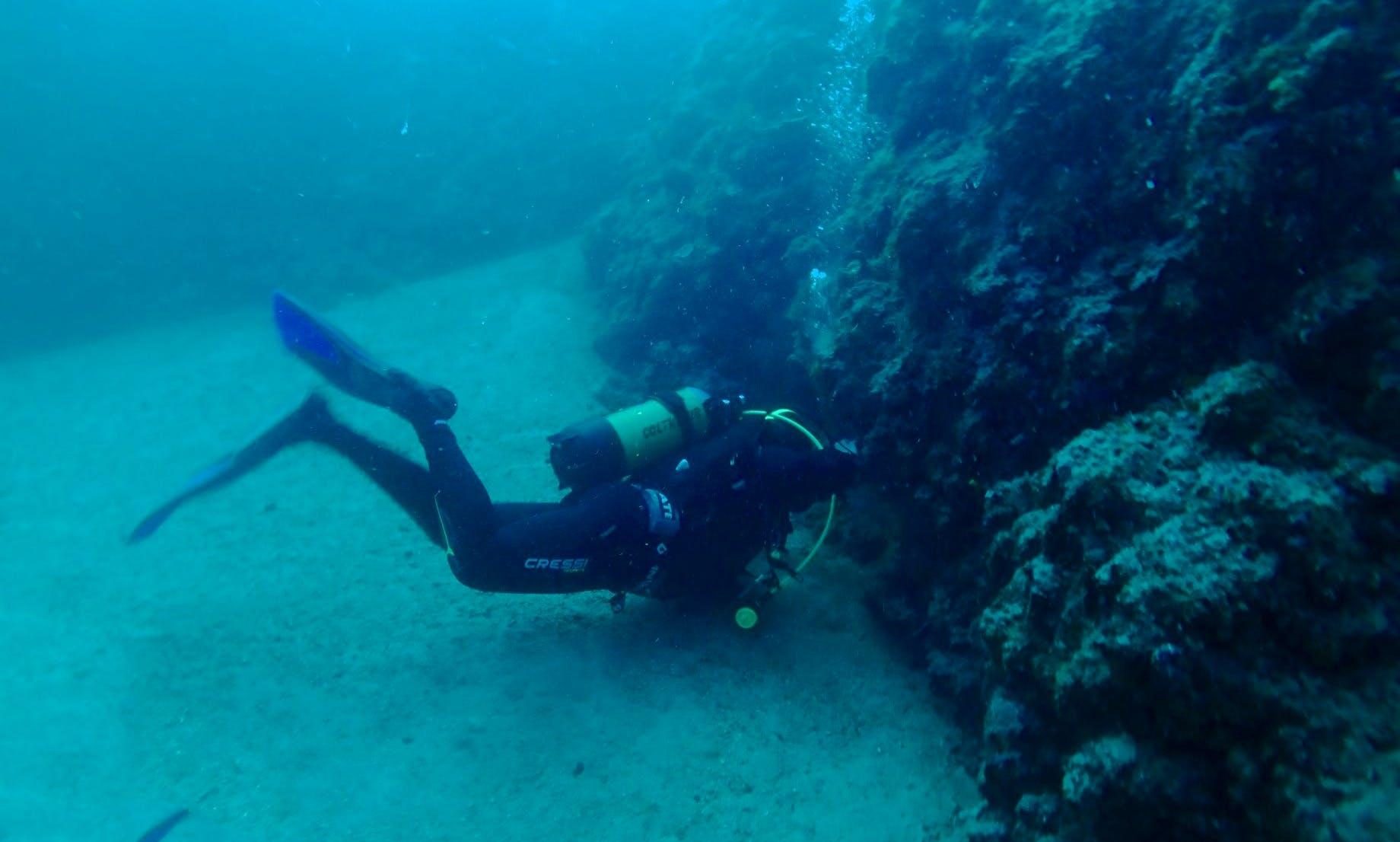Boat Diving Trips in Dugi Uvala, Croatia