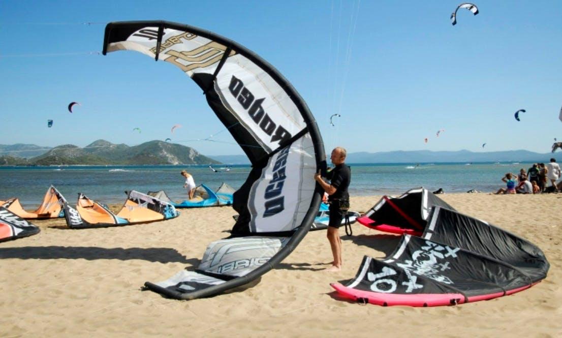 Kitesurfing Lesson in Ušće Neretve, Croatia