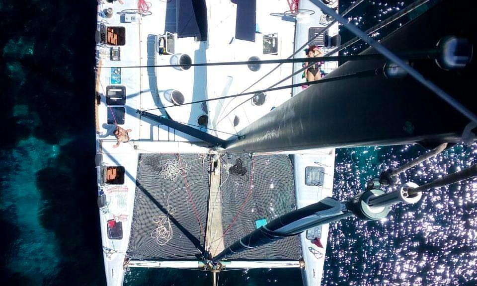 Cruising Catamaran rental in Porto Cesareo with captain