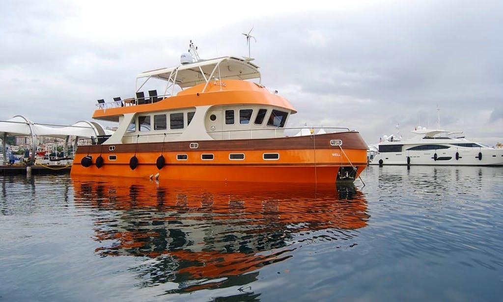 Wheelchair accessible motor yacht in Turkey