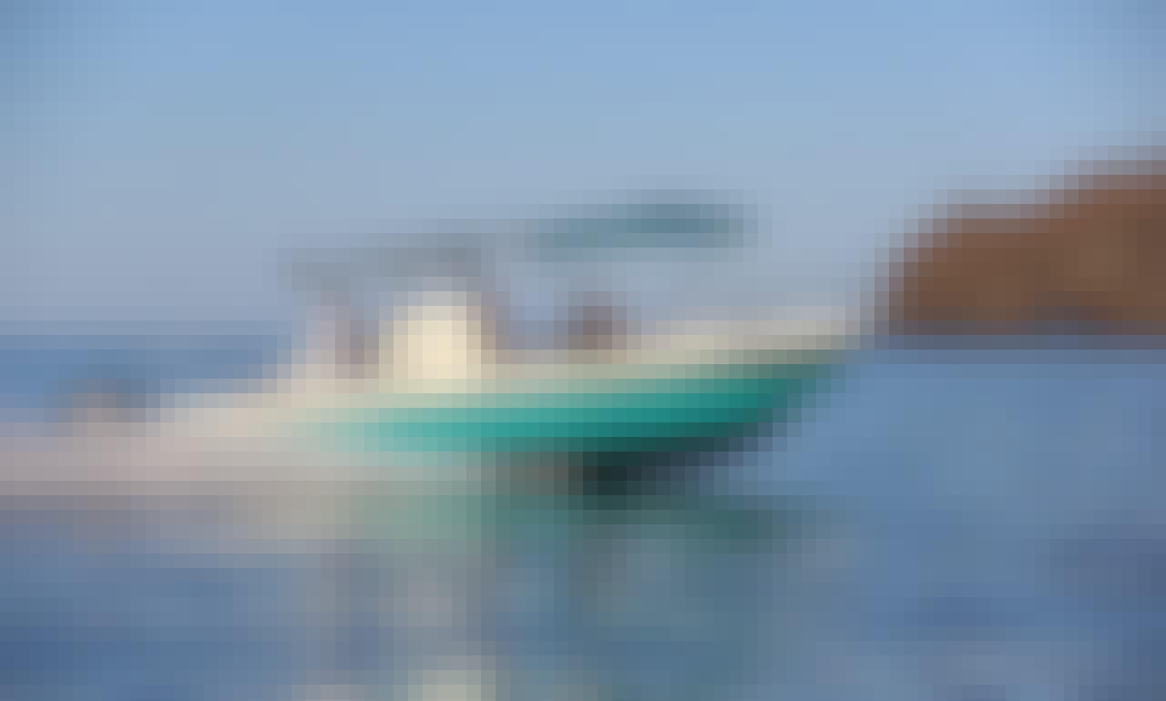 "Enjoy Fun Fishing Trip in Costa Rica on 25ft ""Racoon"" Boston Whaler Boat"