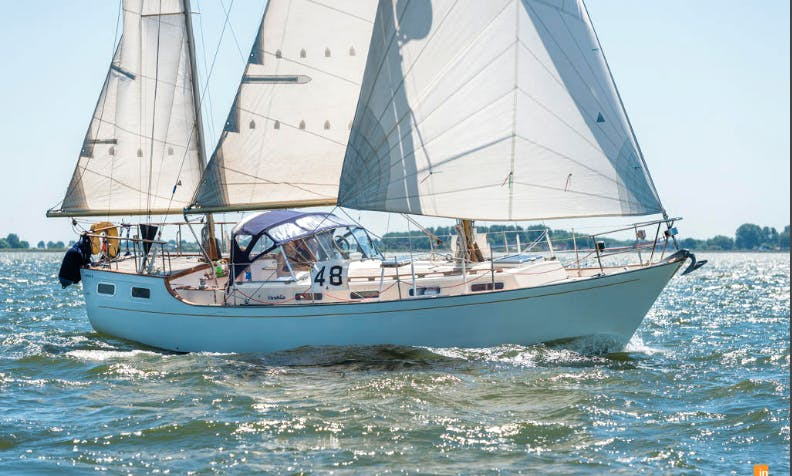 Captained Charters on a Beautiful Sailing Ketch From Dublin Bay, Ireland