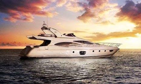 Miami Yacht Rentals - 68' AZIMUT - Miami, Florida Keys,The Bahamas!
