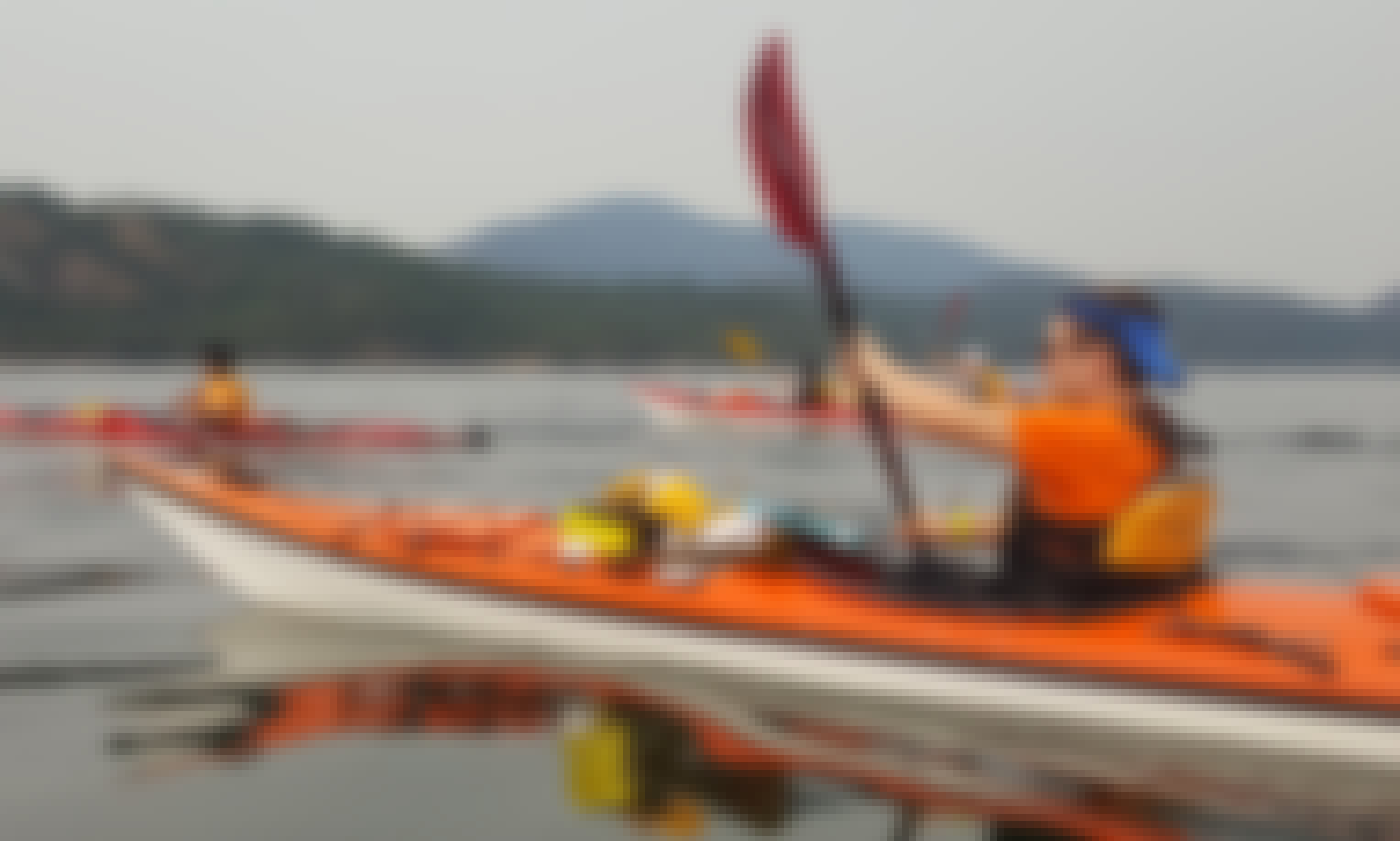 Guided Multi Day Kayaking Tours in the Gulf Islands