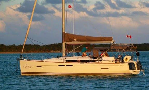 Spacious Sun Odyssey 409 Cruising Monohull in Nassau, The Bahamas