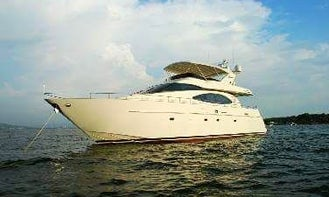 70ft Center Console rental in Cartagena, Colombia