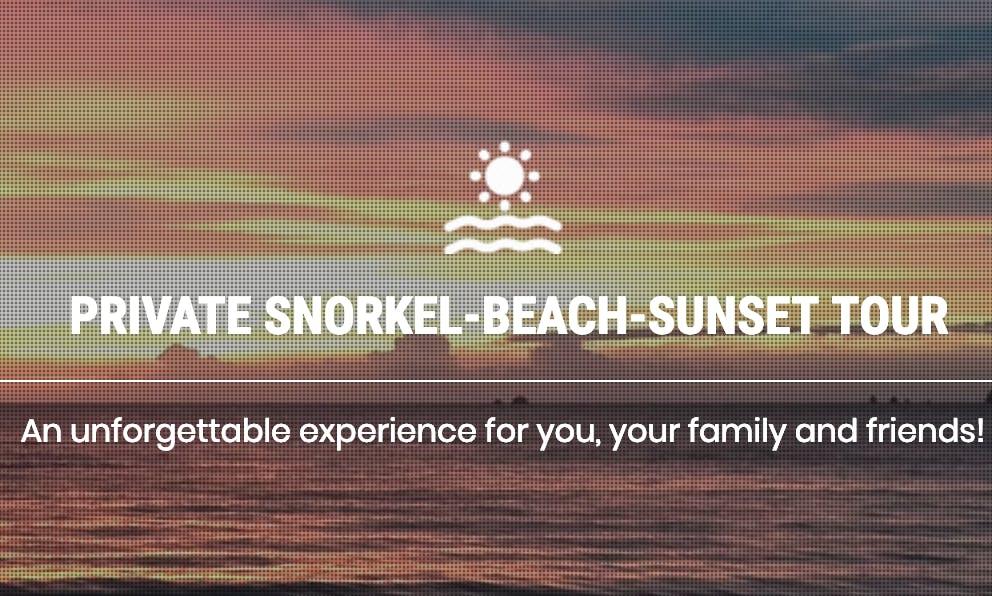 Private Snorkel-Beach-Sunset Tours in Playa Flamingo, Costa Rica