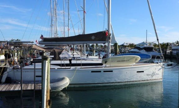 Easy to Navigate Sun Odyssey 419 Sailboat in Nassau, The Bahamas