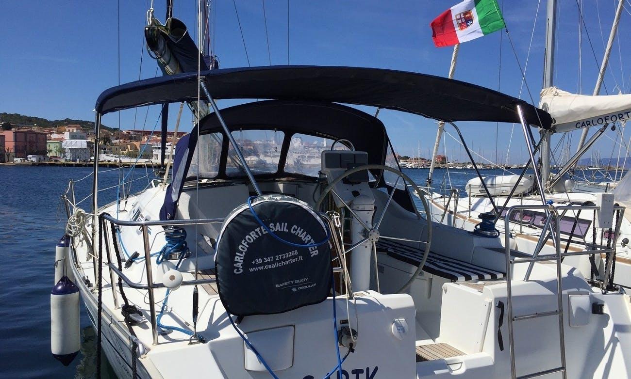 'Sabik' Oceanis 393 Clipper Monohull Charter & Trips in Carloforte
