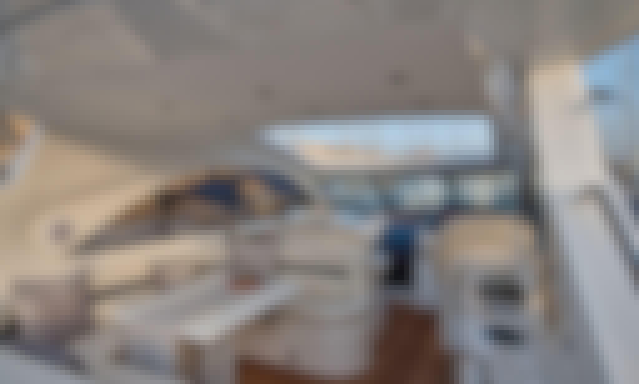 Cruise on the Sporty Sunseeker Camargue 50 in Il-Birgu, Malta