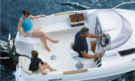 Quicksilver 470 Cruiser for Hire in Carboneras, Spain