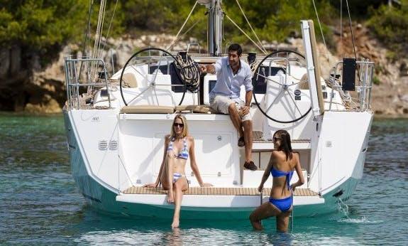 Amazing Dufour 460 Gl Liberty Cruising Monohull Charter In Olbia, Sardinia