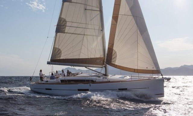 Dufour 460 Sailboat with 4 Cabins and 4 Heads in Port de Pollença