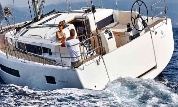 Explore Olbia, Sardinia On Sun Odyssey 490 Sailboat!