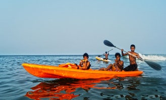 Tandem Ocean Kayak Rental in Visakhapatnam, India