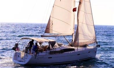 Beneteau Oceanis 40 Bareboat Charter for 6 People in Turgutreis, Turkey