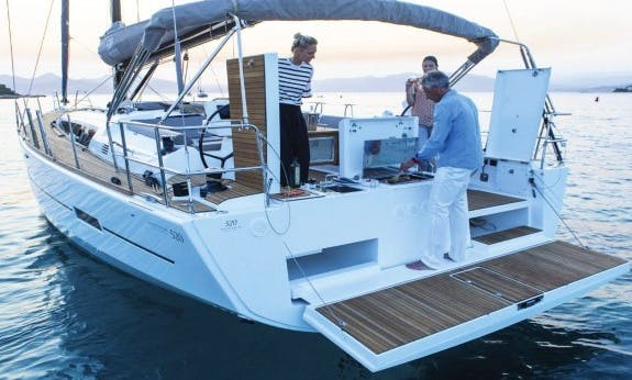 Charter The 2019 Dufour 520 Gl Cruising Monohull in Olbia, Sardinia