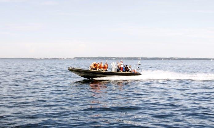 12 Seater Ridas 36 Inflatable Boat in Estonia, Tallinn