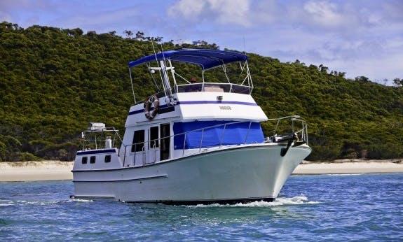 Charter Sundecker 36 Cruiser Motor Yacht In Queensland, Australia