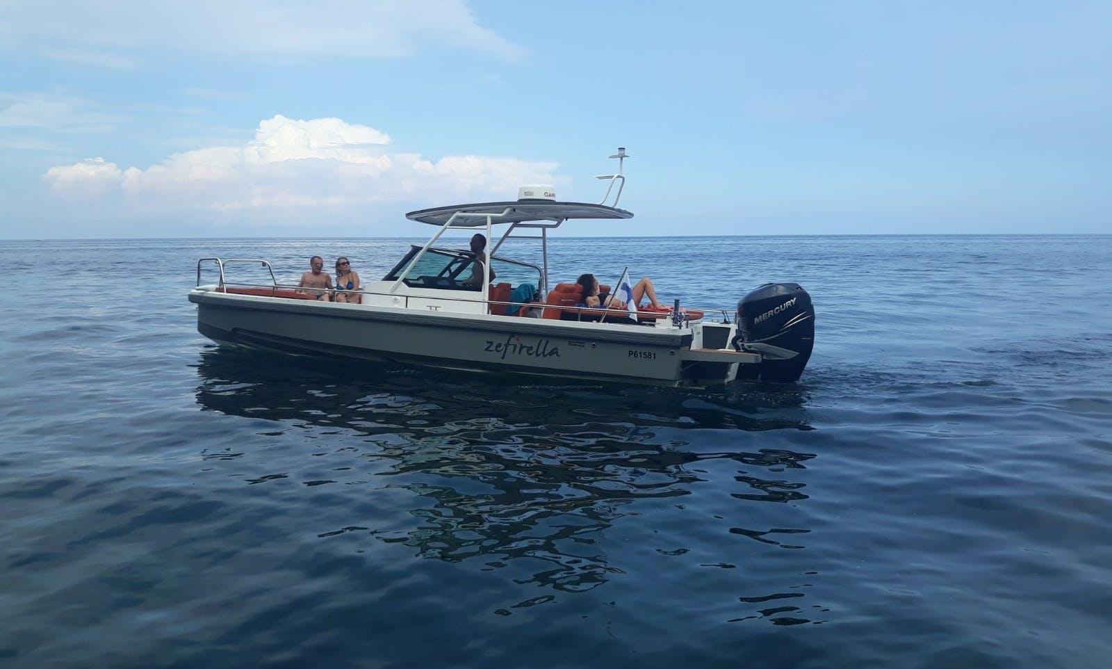 Outstanding Axopar 28TT in Siracusa, Sicily