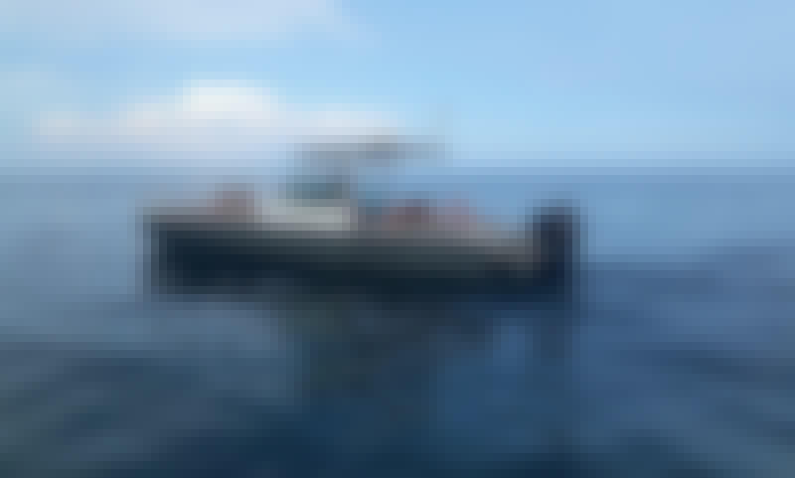 Outstanding Axopar 28TT in Aeolian Islands, Sicily