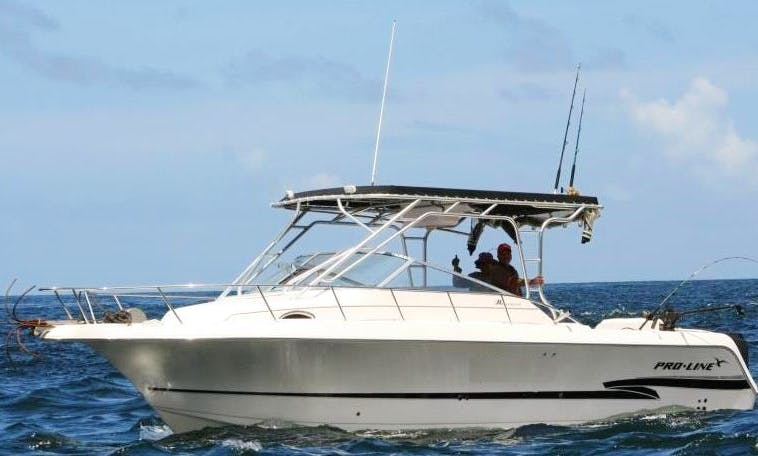 Cuddy Cabin/Walk Around Captained Charter for 15 People in  Port of Spain, Trinidad and Tobago