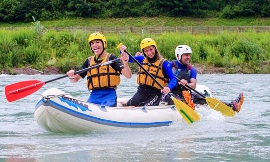 Amazing Canoeing Adventure In Sankt Johann Im Walde, Austria