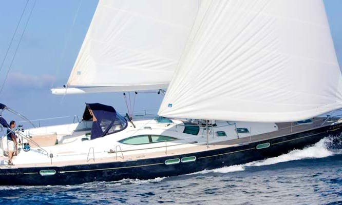 Jeanneau Odyssey 54 Sailing Yacht for 8 People in Altea, Spain