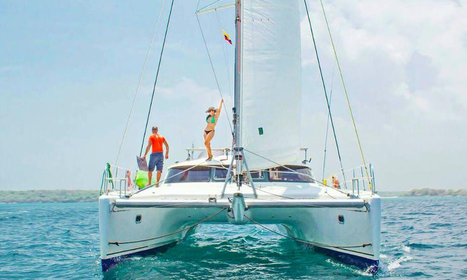 Cruising Catamaran rental in Cartagena