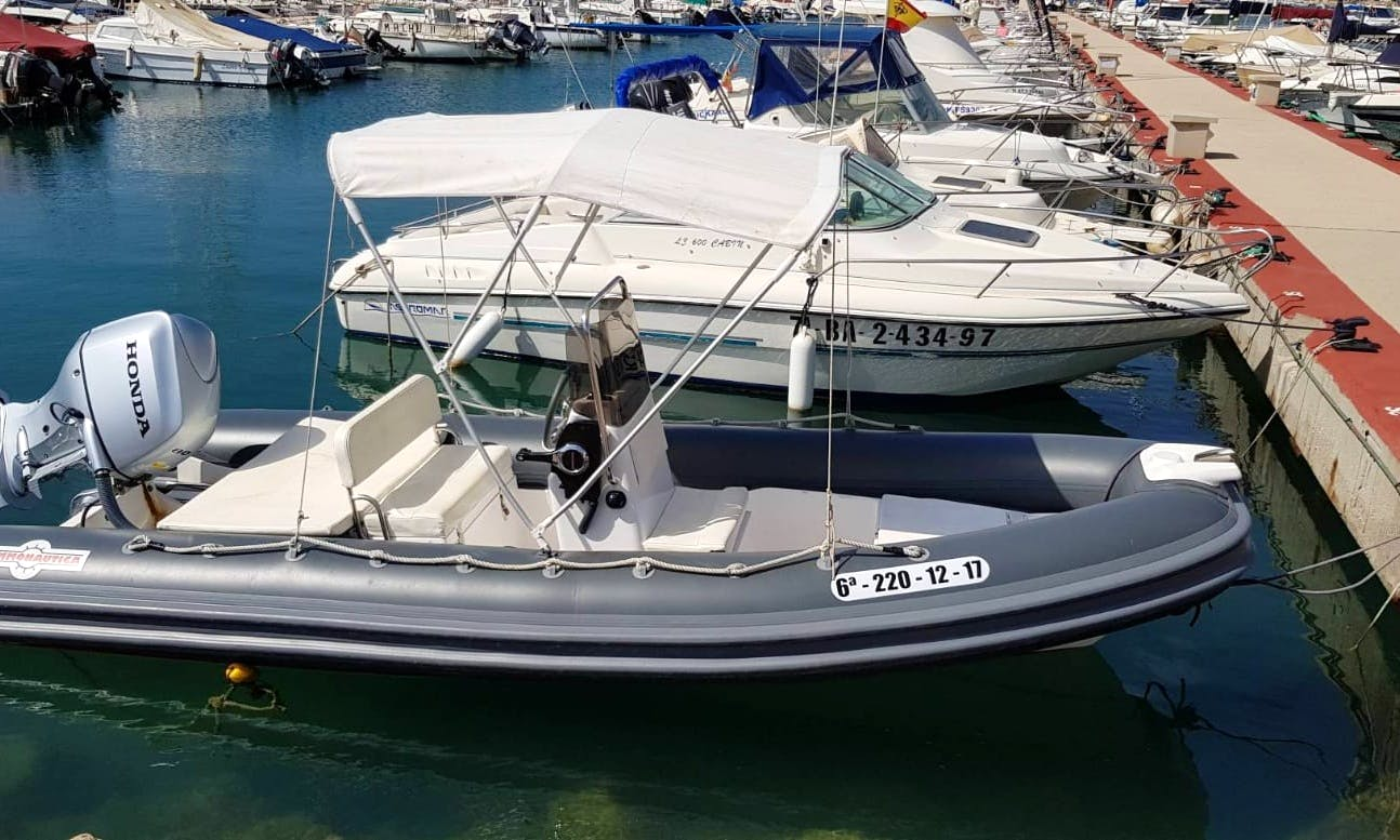 2017 Gommonautica RIB For 6 Adventurous People In Torrevieja, Spain