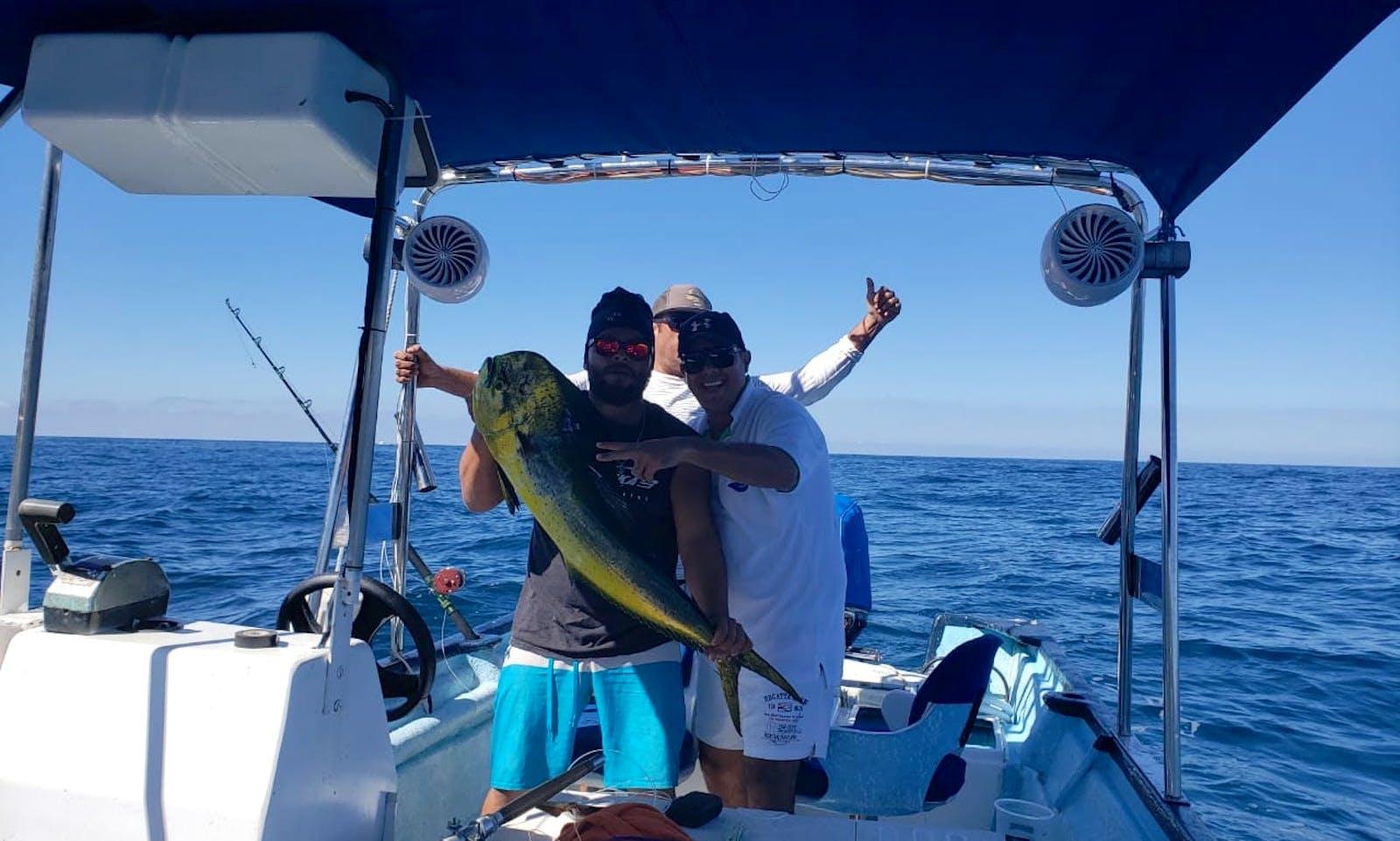 Renta para Pesca o Paseo en Puerto Vallarta