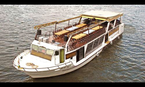 Private Dinner Cruise Boat for 125 Guests in Bangkok, Thailand