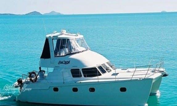 Conquest 44 Powered Catamaran Rental In Queensland, Australia