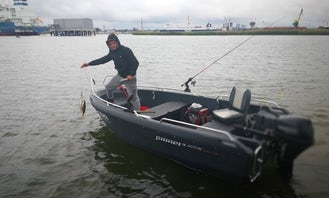 Pioneer 14 Active Boat for Rent in Klaipėda, Lithuania