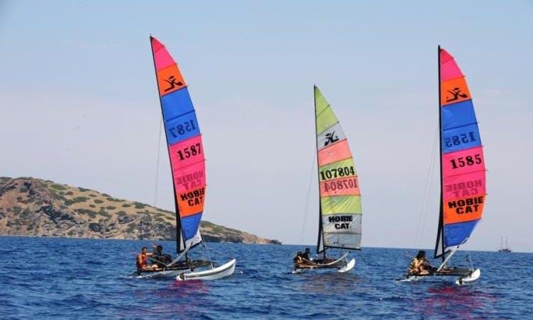Go Sailing With Us In Muğla, Turkey! Book a Hobie Cat!
