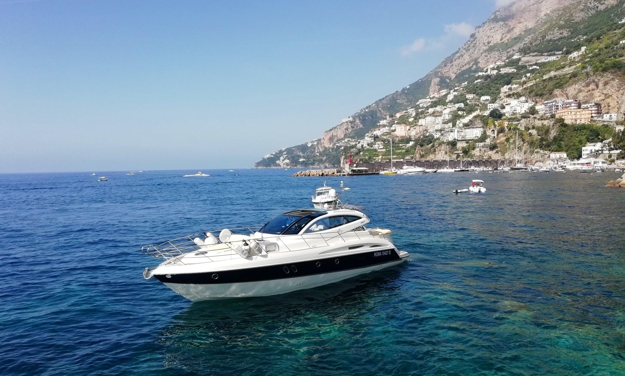 "Motor Yacht "" Elite "" 47 ft  rental in Minori"